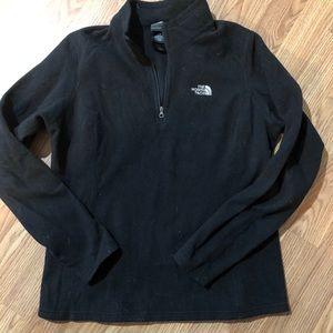 North Face Micro Fleece Sweatshirt Black